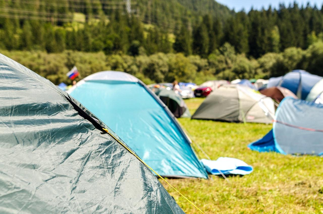 Camping de Leistert met Hemelvaart